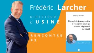 Manuel de transgression Frédéric Larcher Christophe Genthial