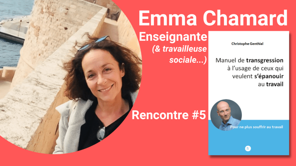 Emma Chamard et Christophe Genthial